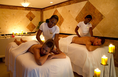 Tropical Couples Massage and In-Room Bath
