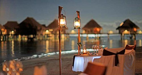 Romantic Dinner on the Beach