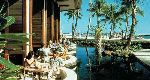 Dining at Rainbow Lanai