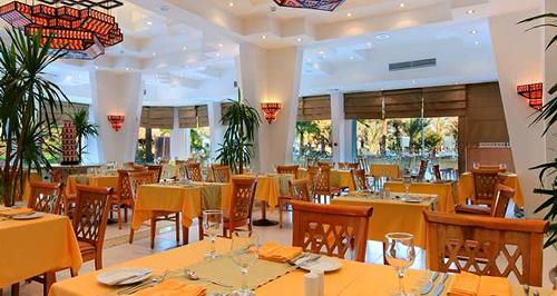 Dining at Wadi Restaurant