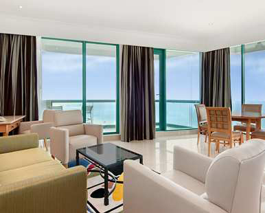 Our King Gulf Sea View Suite