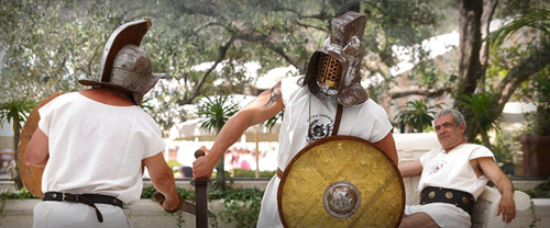 Gladiator Training on Our Honeymoon